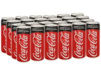 Thùng 24 lon nước ngọt Coca Cola Zero 330ml