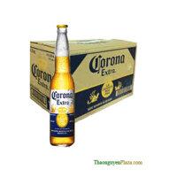 Thùng bia Corona Extra 24 chai x 355ml (Mexico)