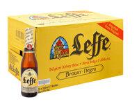 Thùng bia Leffe Blonde - 330ml, 24 chai
