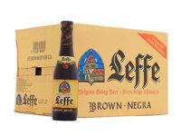 Thùng bia Leffe Brune - 330ml, 24 chai
