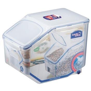 Thùng đựng gạo có bánh xe Lock&lock HPL510 - 10kg