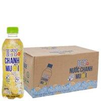 Thùng nước chanh muối ICY - 350ml, 24 chai