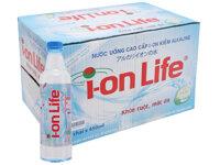 Thùng nước khoáng I-on Life - 450ml, 24 chai