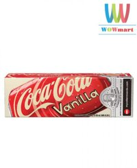 Thùng nước ngọt Coca Cola Vanila 12 lon