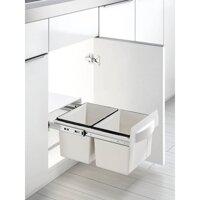 Thùng rác 2 ngăn âm tủ bếp Higold 307013