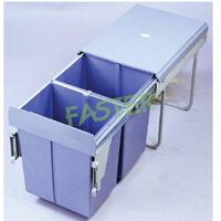 Thùng rác đôi âm tủ Faster FS-DB20D