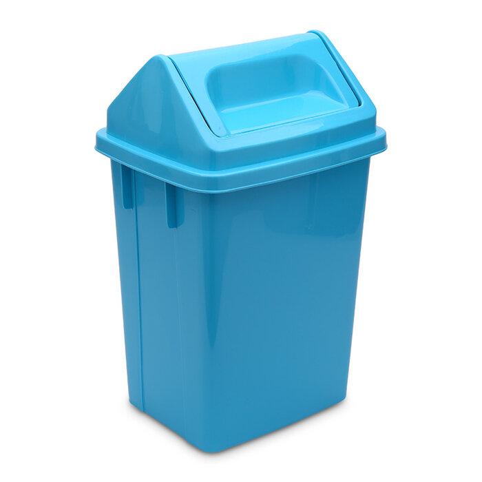 Thùng rác nắp lật Sawady 9L