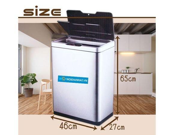 Thùng rác thông minh Sensible Eco Living 47L