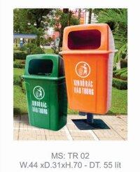Thùng rác treo 55 lít (TR-02)