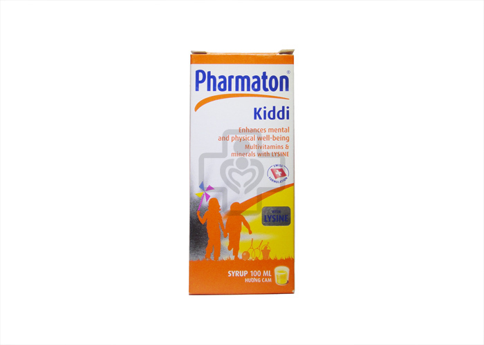 Thuốc bổ dùng cho trẻ em và thanh thiếu niên Pharmaton Kiddi
