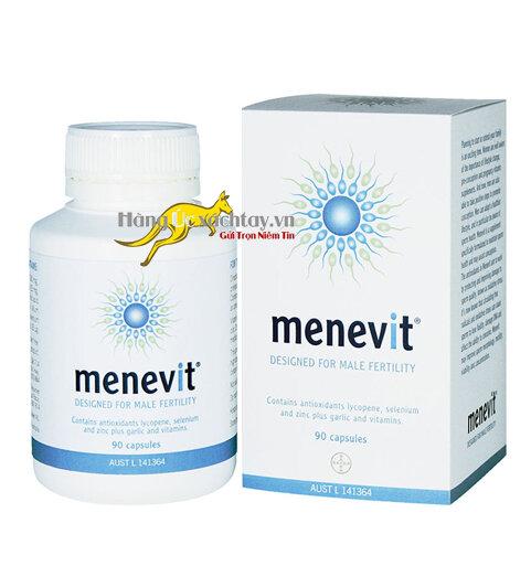 Thuốc bổ dưỡng cho nam giới Menevit 90 viên