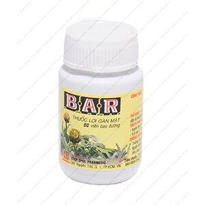 Thuốc bổ gan Bar