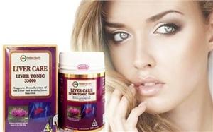 Thuốc bổ gan Liver Care Liver Tonic Golden Health 35000mg 100 viên