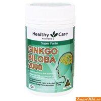 Thuốc bổ não Healthy Care Ginkgo Biloba hàm lượng 2000mg