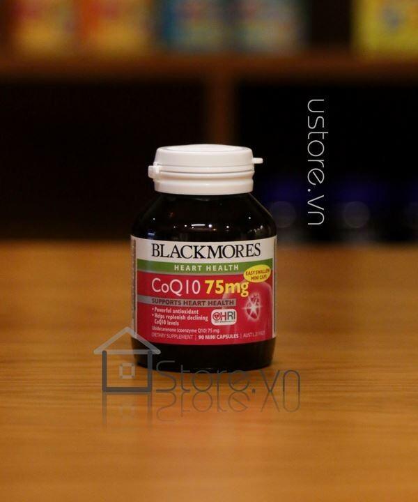 Thuốc bổ tim Blackmores COQ10 75mg 90 viên