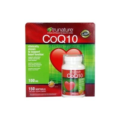 Thuốc bổ tim CoQ10 Trunature 100 mg 150 viên