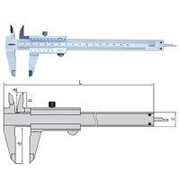 Thước cặp cơ khí INSIZE 1205-1502