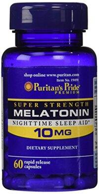 Thuốc hỗ trợ mất ngủ Melatonin 10mg Của Puritans Pride