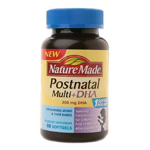 Thuốc Nature Made Postnatal Multi DHA (Bổ Sung Đủ Vitamin, Khoáng Chất Cho Bà Bầu Sau Sinh & Cho Con Bú)