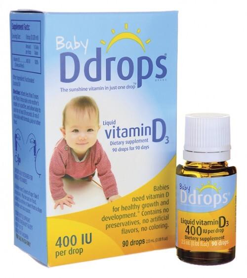 Thuốc nhỏ Baby Ddrop Vitamin D3 – 90 giọt