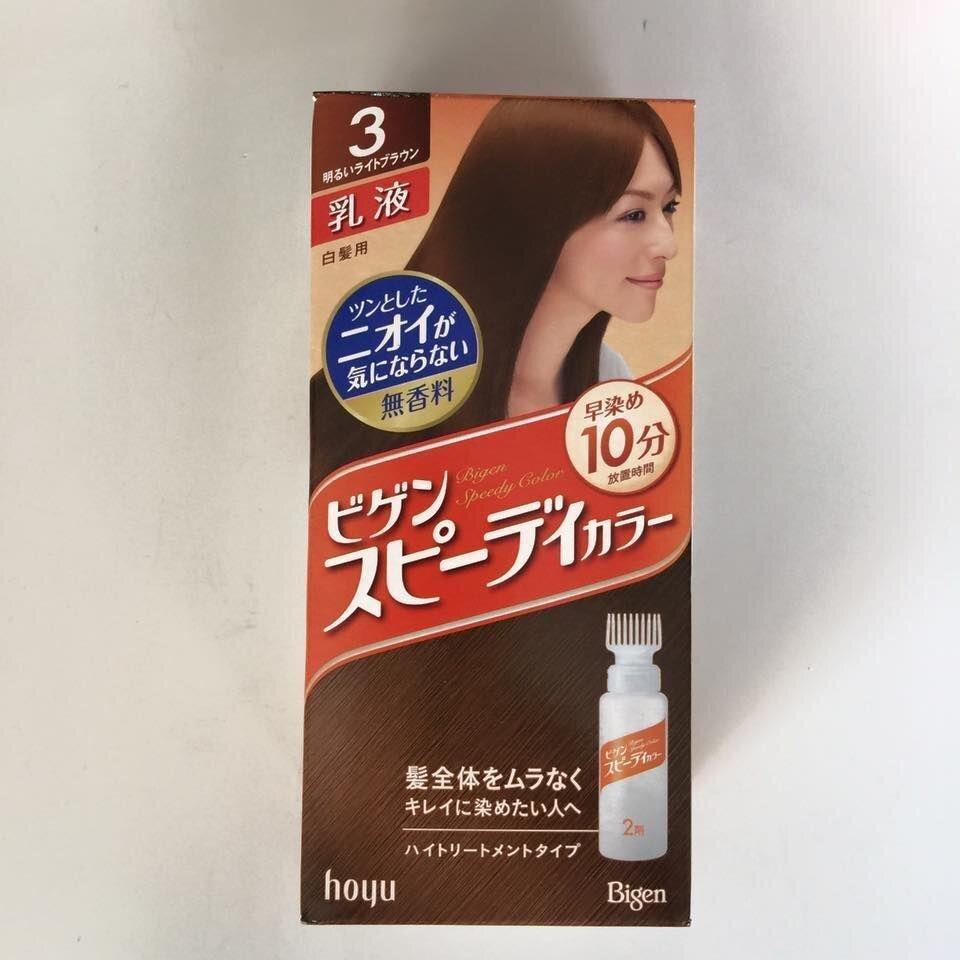 Thuốc nhuộm tóc Bigen số 3 của Nhật