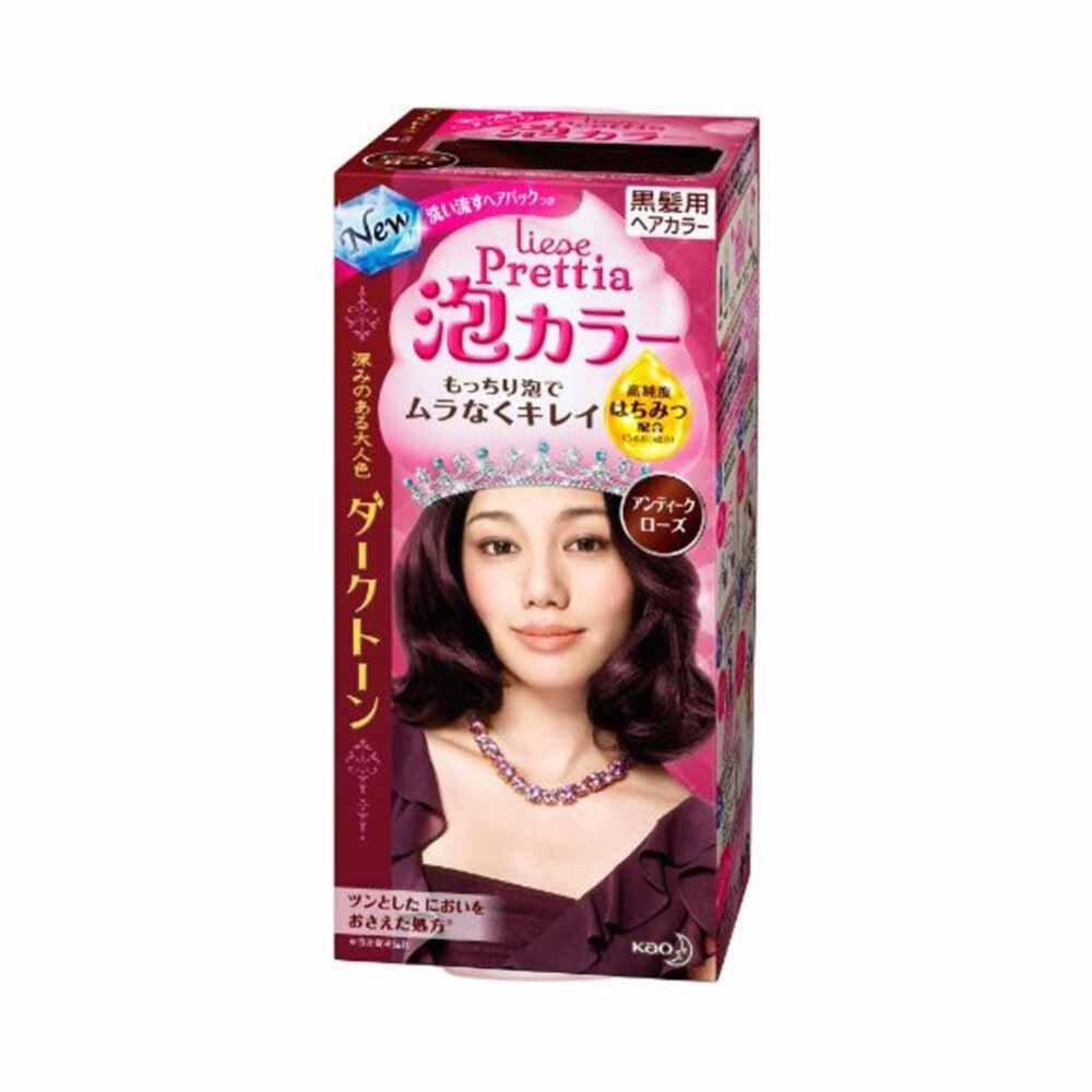 Thuốc nhuộm tóc dạng bọt Kao Liese prettia Nhật Bản