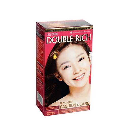 Thuốc nhuộm tóc Double Rich Korean Beauty 6B