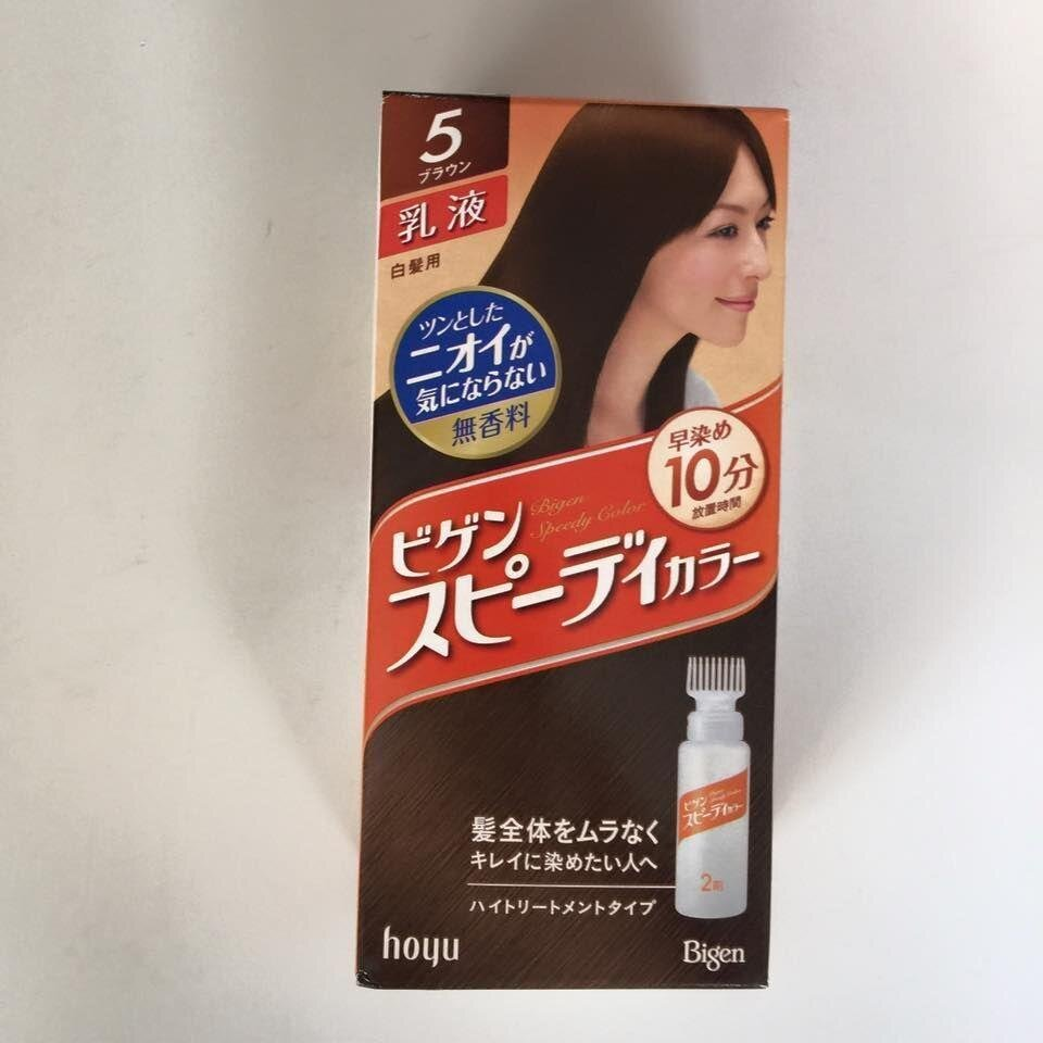 Thuốc nhuộm tóc Nhật Bản Bigen Hoyu 5G