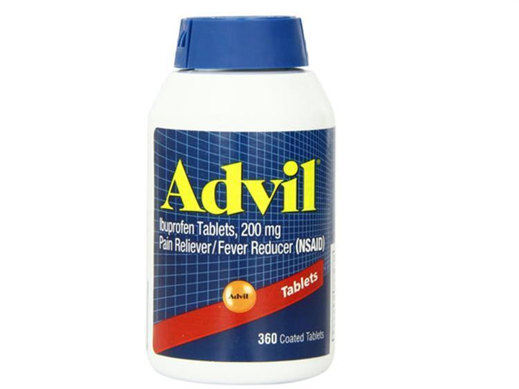 Thuốc trị đau nhức Advil 360 viên 200mg