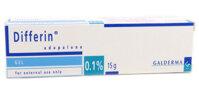 Thuốc trị mụn trứng cá Differin gel