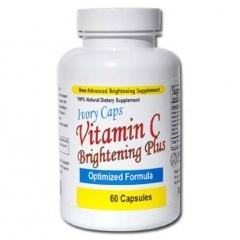Thuốc uống làm trắng và đẹp da Ivory Caps Vitamin C – 60 viên