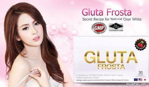 Thuốc uống trắng da Gluta Frosta