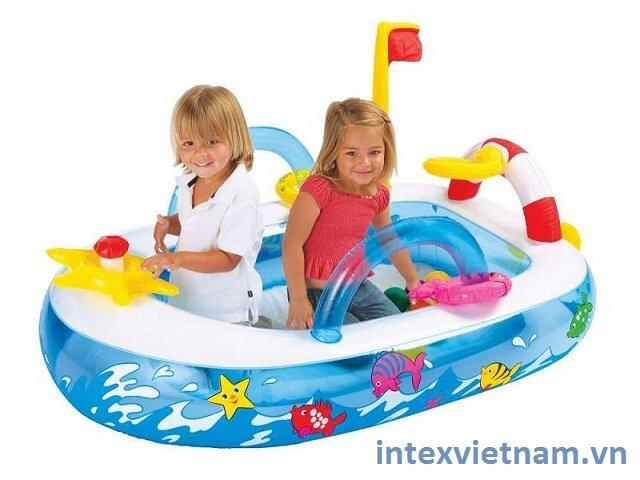 Thuyền hơi phi thuyền Intex 48660