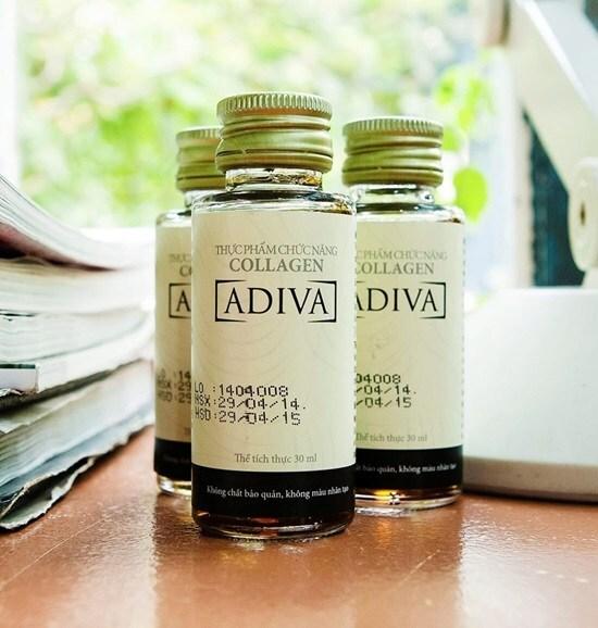 Tinh chất Collagen Adiva – Tinh chất làm đẹp da sau 14 ngày