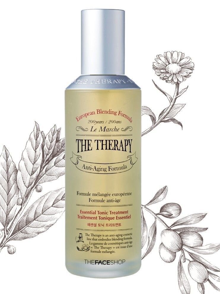Tinh chất dưỡng da The Therapy Oil Drop Anti Aging Serum