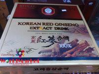 Tinh chất hồng sâm Hàn Quốc Royal Korean Red Ginseng Extract Drink dạng gói (hộp 30 gói)