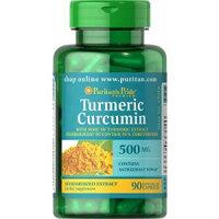 Tinh chất nghệ vàng curcumin puritan's pride 500mg hộp 180 viên của Mỹ