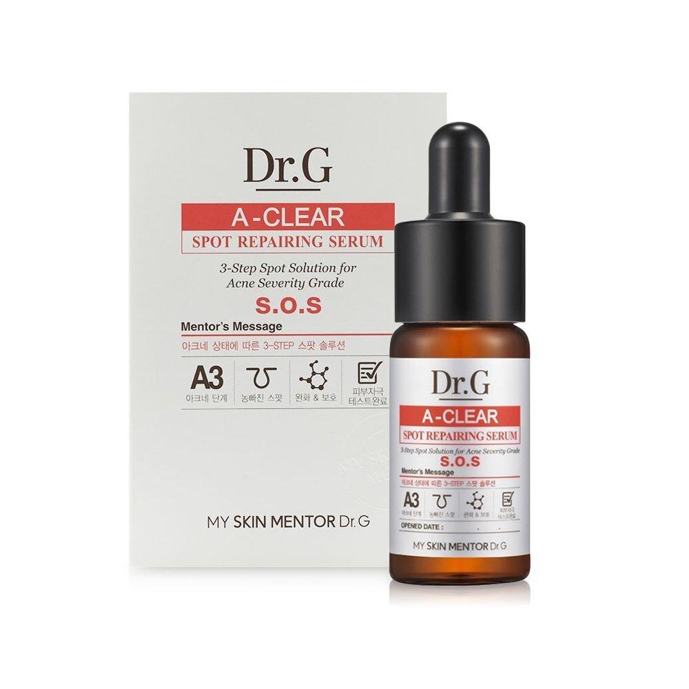 Tinh chất trị mụn và ngăn ngừa sẹo thâm Dr.G A-Clear Spot Repairing Serum 15ml