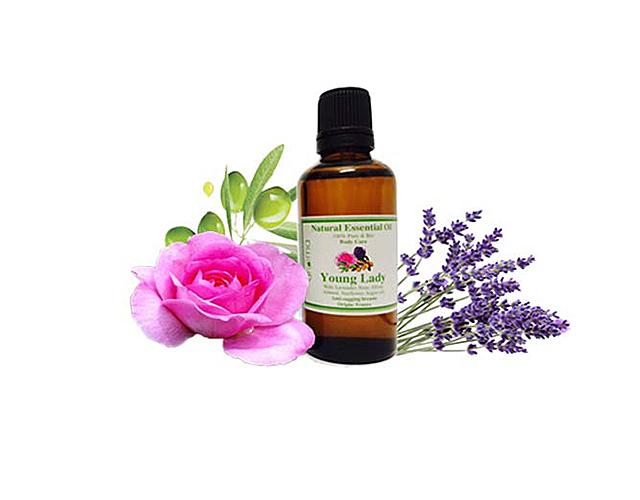Tinh dầu Aroma giúp trẻ hóa vùng ngực