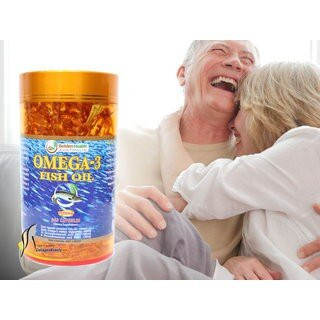 Tinh Dầu Cá Omega 3 1000mg 365 viên Golden Health - DCOmega-3GH-365V