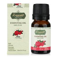 Tinh dầu hoa hồng tinh khiết Lavende Rose Essential Oil 10ml