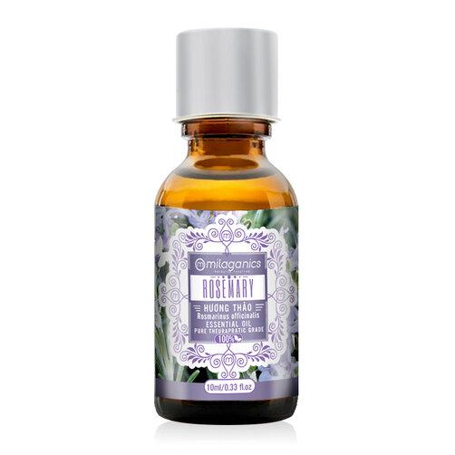 Tinh dầu hương thảo Milaganics Rosemary Essential Oil 10ml