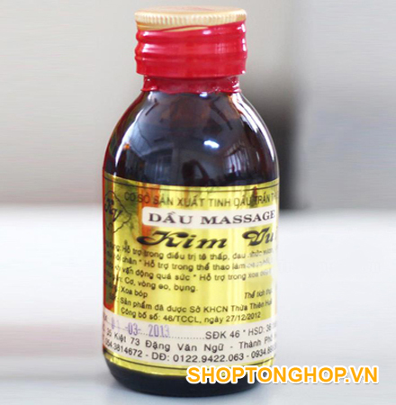 Tinh dầu Massage Kim Vui 100ml