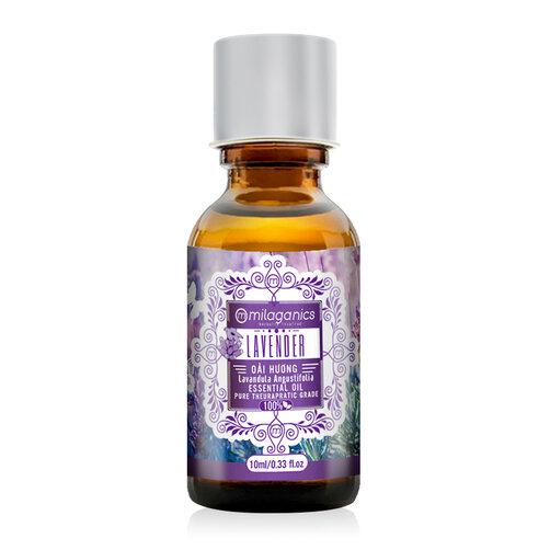 Tinh dầu oải hương Milaganics Lavender Essential Oil 10ml