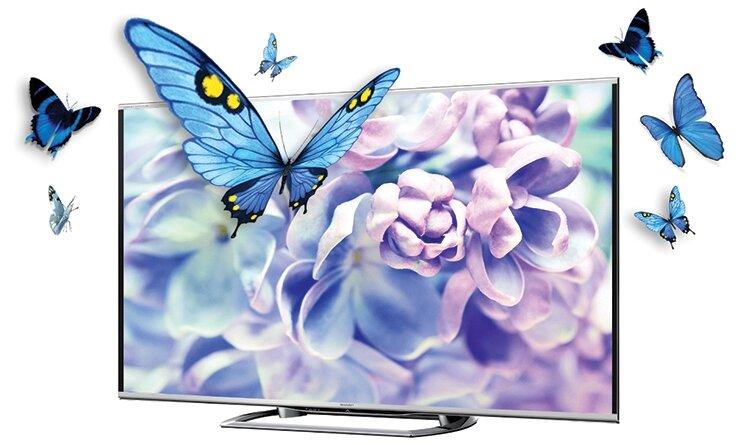 Tivi LED 3D Sharp LC80LE960X (LC-80LE960X) - 80 inch, Full HD (1920 x 1080)