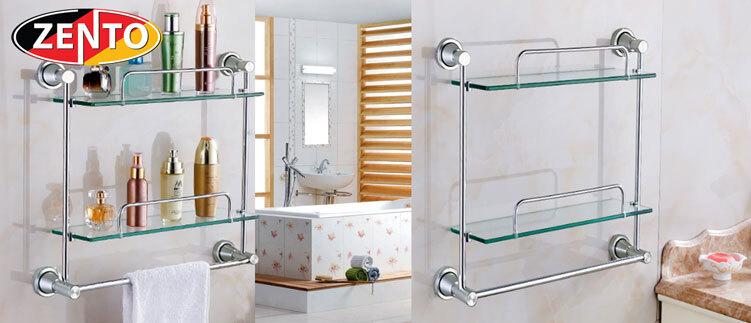 Giá để đồ phòng tắm 2 tầng Zento LS0060