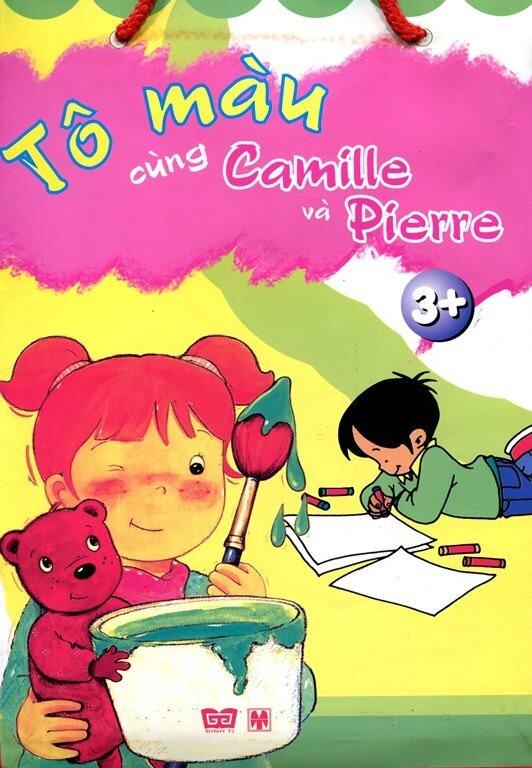 Tô màu cùng Camille và Pierre - Nhiều tác giả