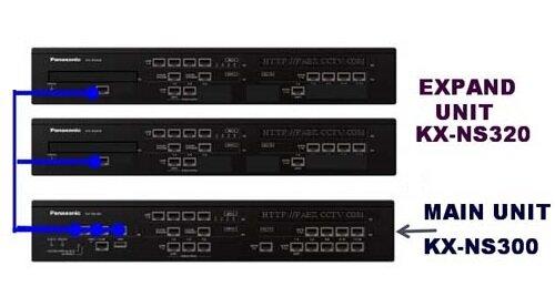 Tổng đài Panasonic KX-NS300, 6 trung kế, 80 máy nhánh