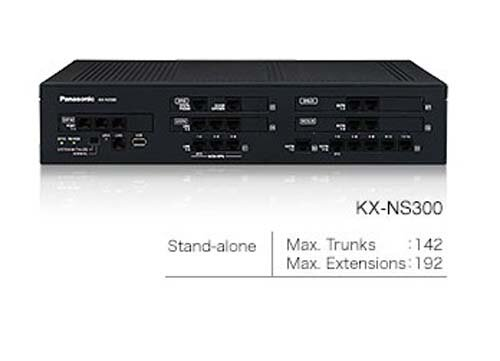 Tổng đài Panasonic KX-NS300, 6 trung kế, 32 máy nhánh