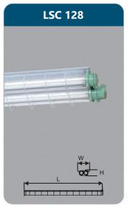 Đèn chống cháy nổ Duhal LSC128 1x28w